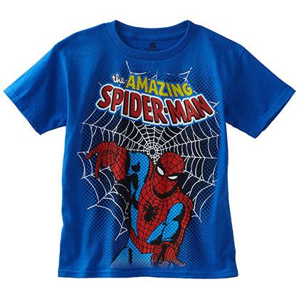 Spiderman Amazing Royal Blue Boys Youth TShirt