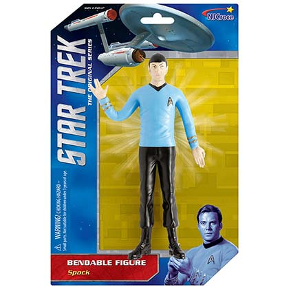 Star Trek Spock Bendable Action Figure Toy