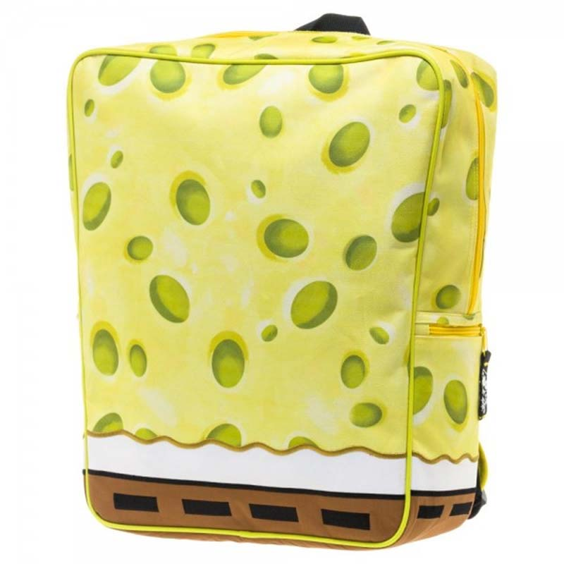 Spongebob Squarepants Costume Backpack With Tie