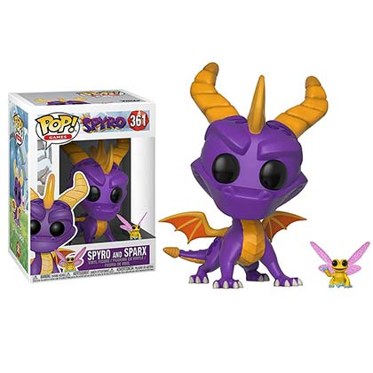 Spyro The Dragon Funko POP Vinyl Figure Bobblehead