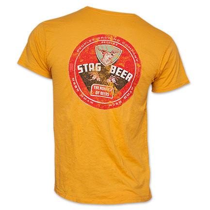 Stag Beer Vintage Men's Shirt