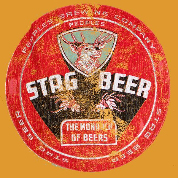 Stag Beer Vintage Men S Shirt