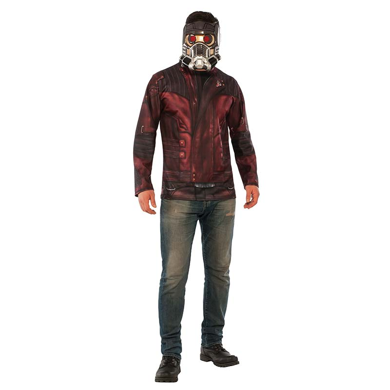 Guardians Of The Galaxy Complete Adult Star Lord Movie Costume