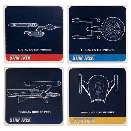 Star Trek Four Pack Coaster Set