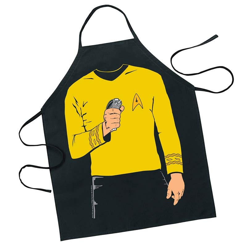 Star Trek Captain Kirk Cooking Apron