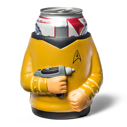 Star Trek Kirk Foam Beer Can Cooler