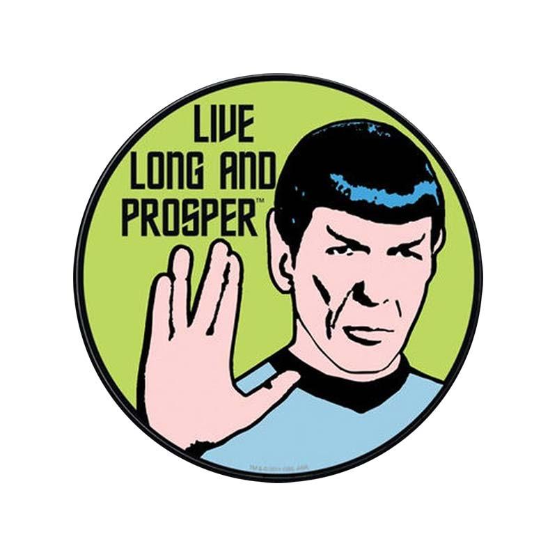 Star trek live long prosper spock decal sticker