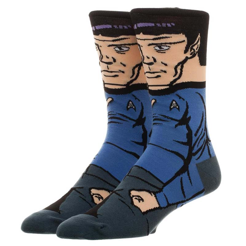 Star Trek Men's Spock Crew Socks
