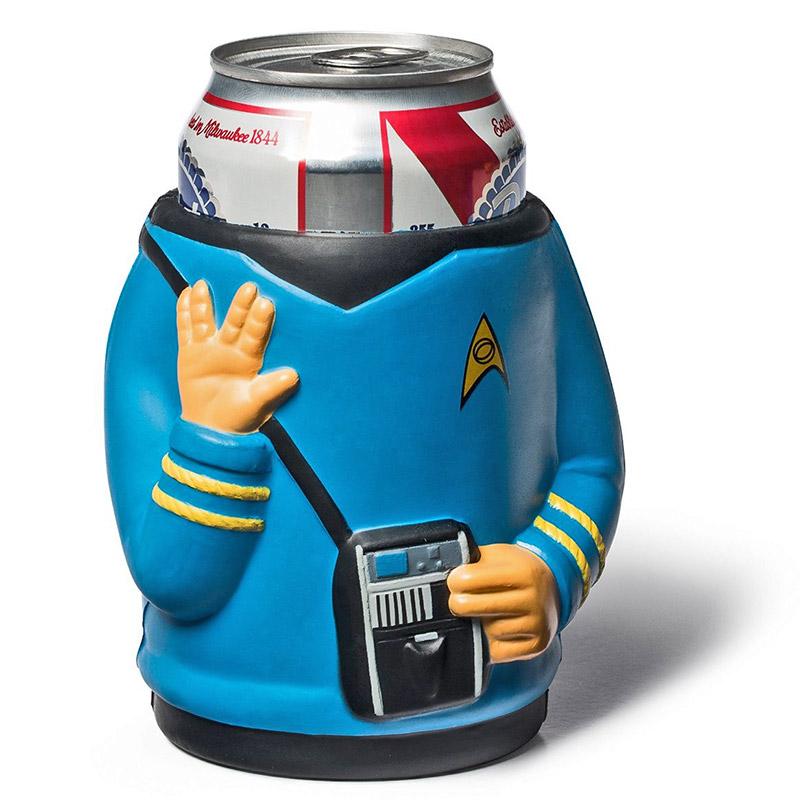 Styrofoam Beer Can Cooler ~ Star trek spock foam beer can cooler