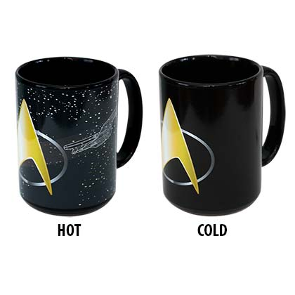Star Trek Color Changing Mug