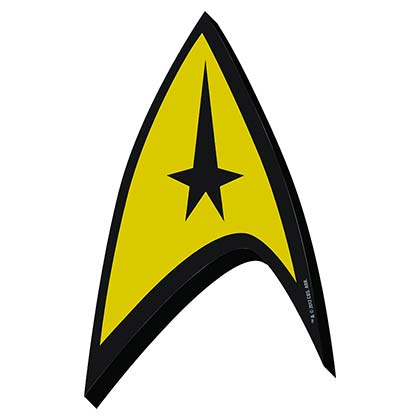 Star Trek The Original Series Logo Magnet