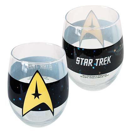 Star Trek Oval 21oz Drinking Glass