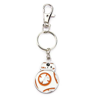 Star Wars Metal BB8 Episode 8 Keychain