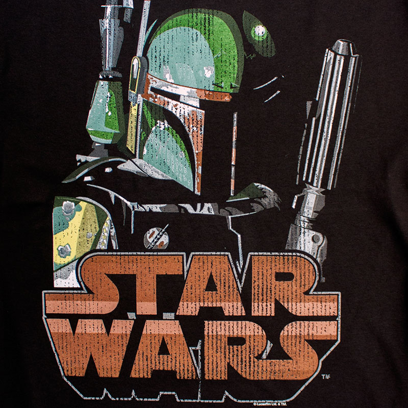 Star Wars Men's Boba Fett Bountiful Tee Shirt