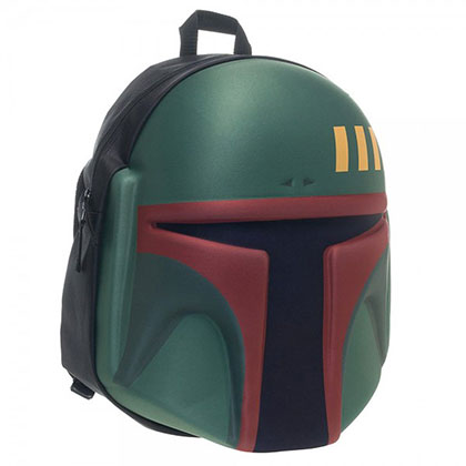 Star Wars Molded Helmet Boba Fett Backpack