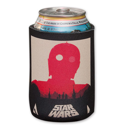 Star Wars C3PO Empire Strikes Back Beer Koozie