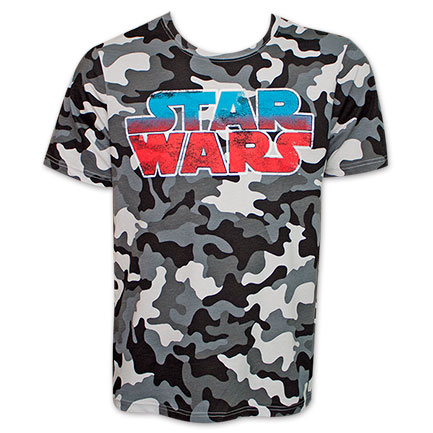Star Wars Logo Tee Shirt - Camo