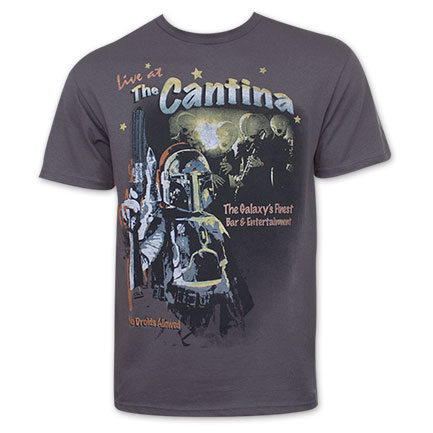 Star Wars Boba Fett At The Cantina Tee Shirt