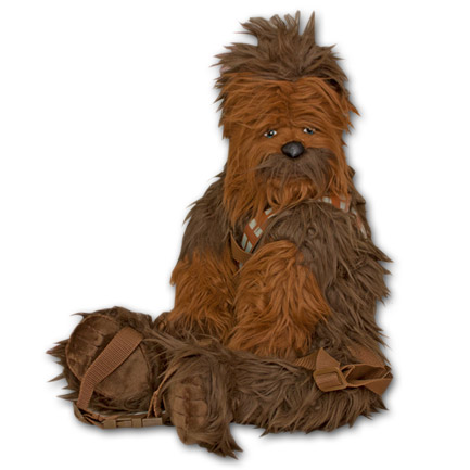 Star Wars Chewbacca Plush Backpack Buddy