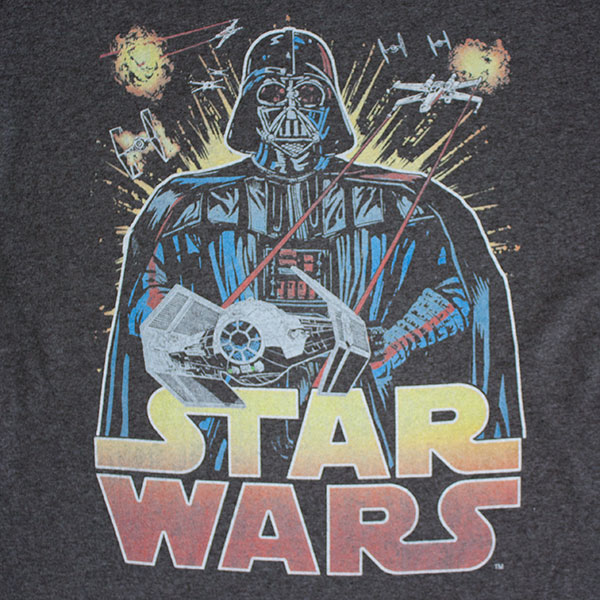 Star Wars Vintage Ancient Threat Darth Vader T-Shirt