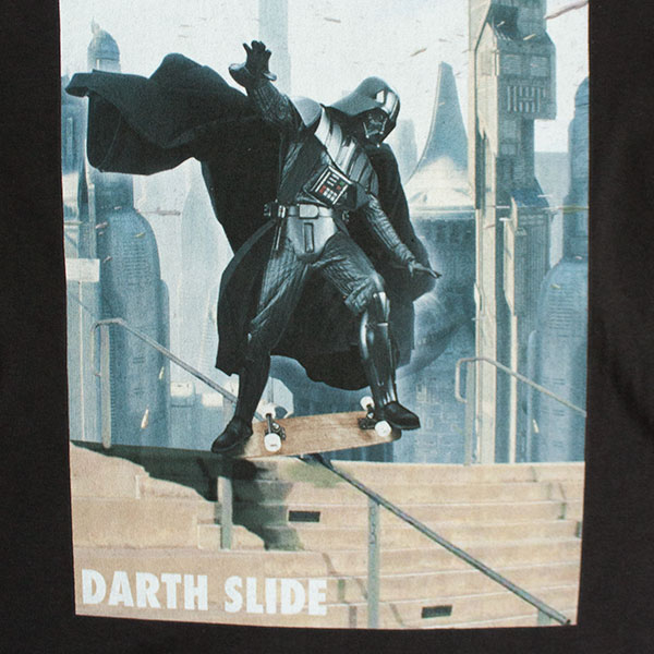 Star Wars Black Darth Slide TShirt
