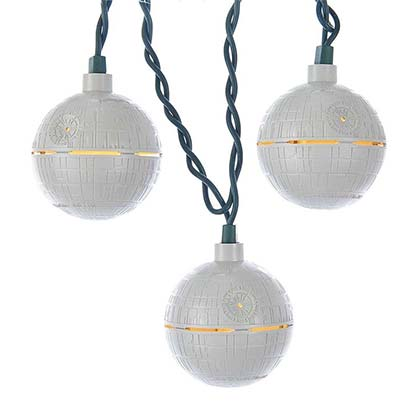 Star Wars Death Star Hanging String Lights
