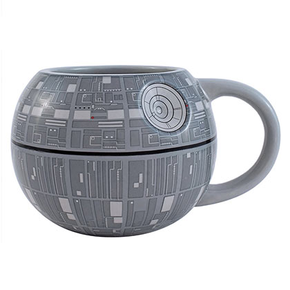 Star Wars Molded Death Star Coffee Mug