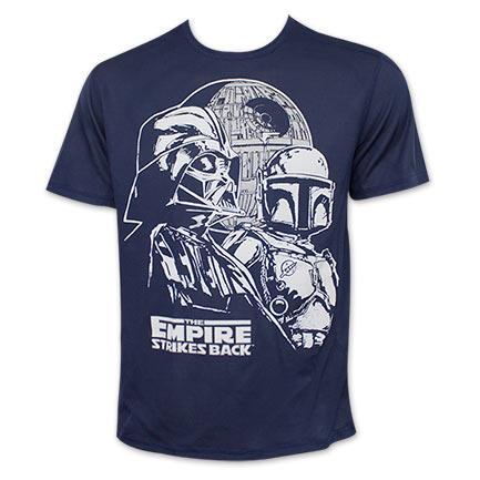 Star Wars Empire Strikes Back Darth Vader Boba Fett Tee Shirt