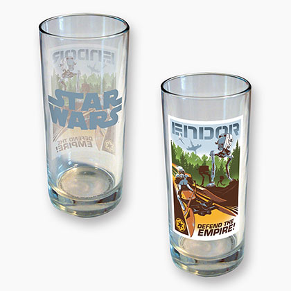 Star Wars Endor 15 Ounce Drinking Glass