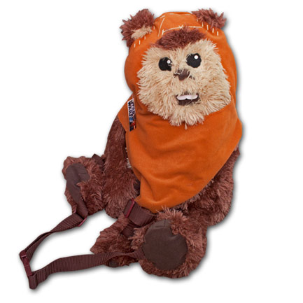 Star Wars Wickett the Ewok Plush Backpack