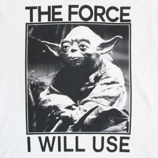 Star Wars Men's The Force I Will Use Tee Shirt