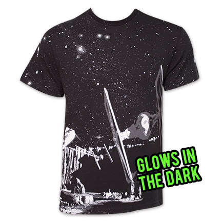 Star Wars Killer Pursuit Glow-in-the-Dark TShirt - Black
