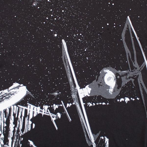 Star Wars Glow in the Dark Pursuit Tee - Black