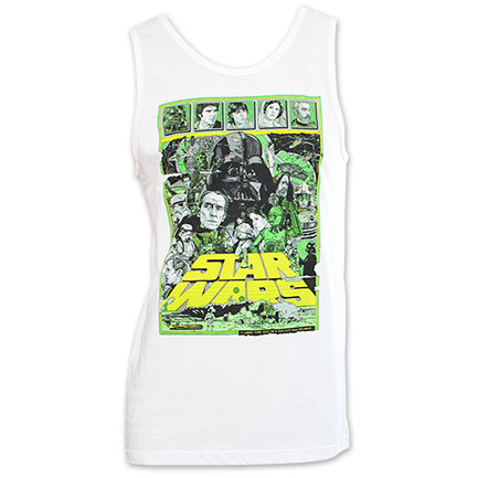 Star Wars Official Epic Hope Tank Top