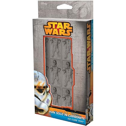 Star Wars Han Solo Carbonite Cube Ice Tray