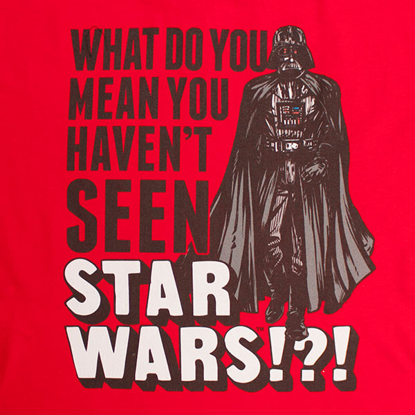 Star Wars What Do You Mean Darth Vader T-Shirt