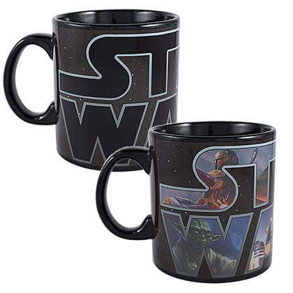 Star Wars 20oz Heat Color Change Mug