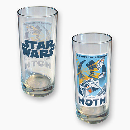 Star Wars Hoth Graphic 15 Ounce Glass