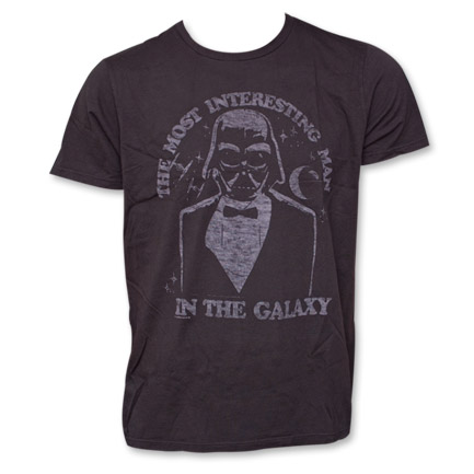 Star Wars Junk Food Brand Most Interesting Man Tshirt