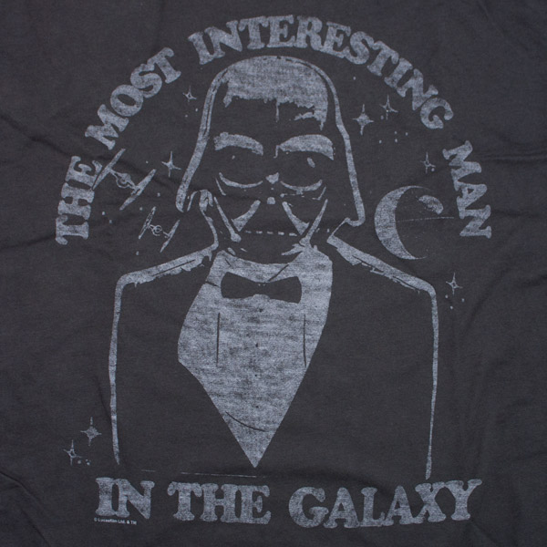 Star Wars Junk Food Brand Dos Equis Spoof Shirt