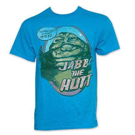 Star Wars No Mind Games Jabba The Hutt TShirt