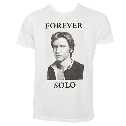 Star Wars Forever Solo Junk Food White Tshirt