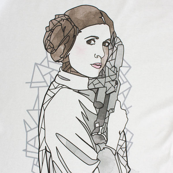 Star Wars Men's Princess Leia Tee Shirt