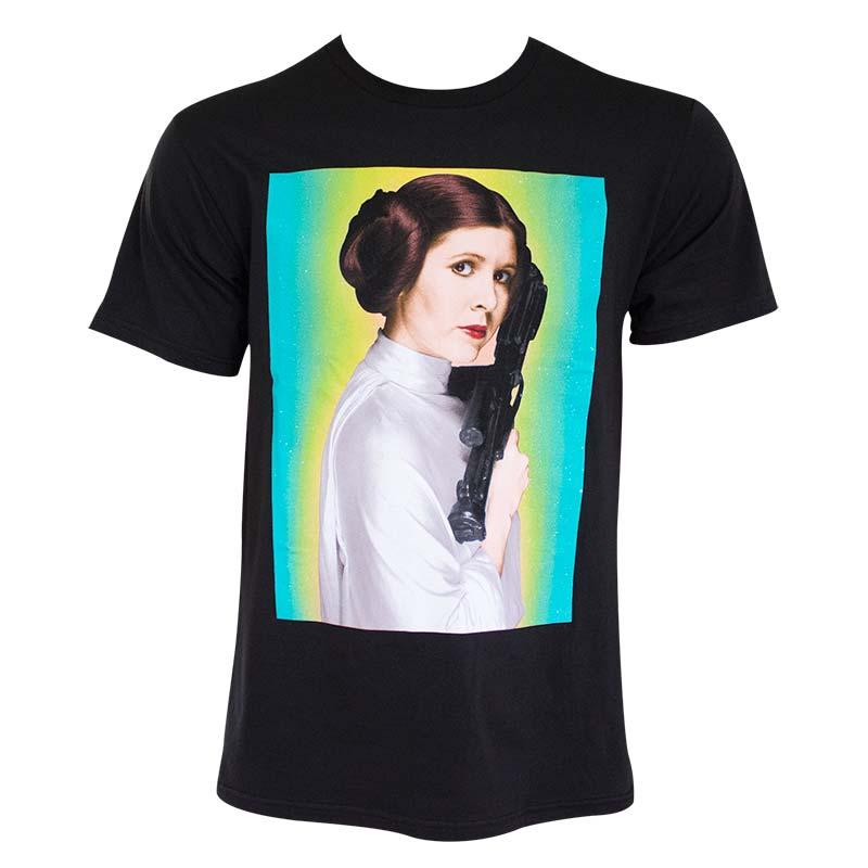 Star Wars Princess Leia Portrait Men\'s T-Shirt | TVMovieDepot.com