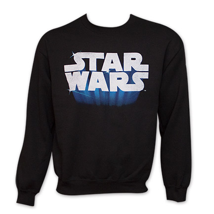 Star Wars Logo Men's Crew Neck Sweat Shirt