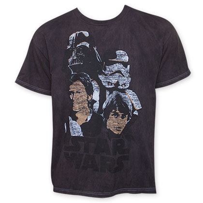 Star Wars Men's Vintage Get At Me Tee Shirt