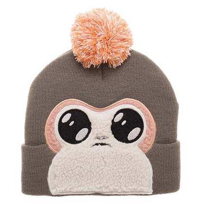 Star Wars Porg Face Beanie