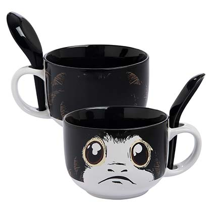 Star Wars Black Porg Soup Mug