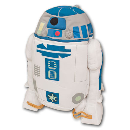 Star Wars R2D2 Plush Backpack Buddy