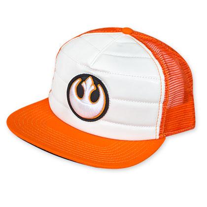 Star Wars Rebel Orange Trucker Hat